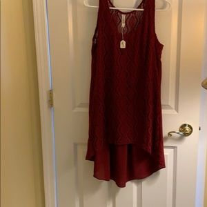 Tops - Summer lace tunic